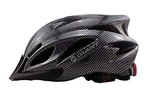 Roller pour adulte pour vélo BMX Casque vélo/skateboard carbone en mousse (Noir)