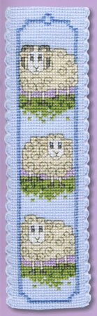 Textile Heritage Collection Cross Stitch Bookmark Kit - Wee Woolly