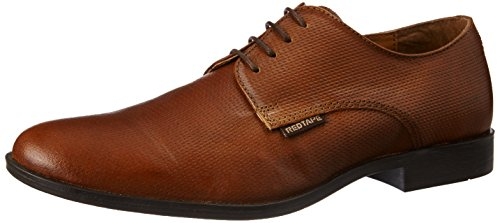 Red Tape Men's Derbys Tan Leather Formal Shoes - 8 UK/India (42 EU)