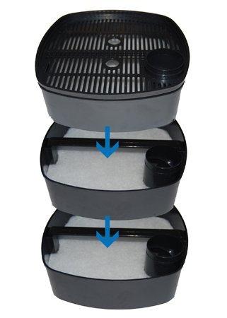 EF Aquarium External Filter (1000L/H)