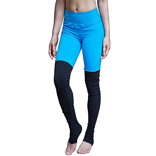 CROSS1946 - Leggings sportivi -  donna Blue with Black