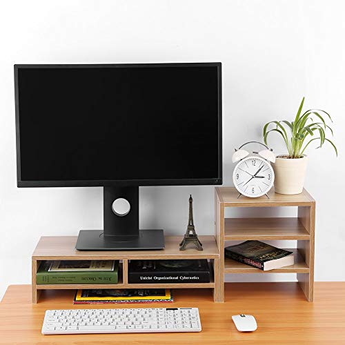 Computer Monitor Riser, Desktop Laptop Computer Monitor for sale  Delivered anywhere in UK