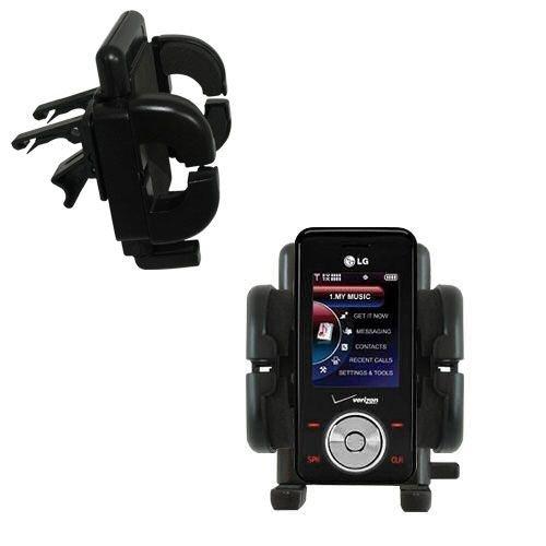 Mit Lüftungsklemme befestigter Cradle-Halter im Fahrzeug / Auto für das LG VX8550 mit Lebenslange Garantie