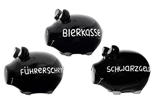 KCG Sparschwein Schwarzgeld klein
