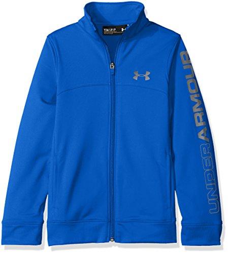 Pennant Under Armour-Giacca con zip da ragazzo, colore: blu, taglia: