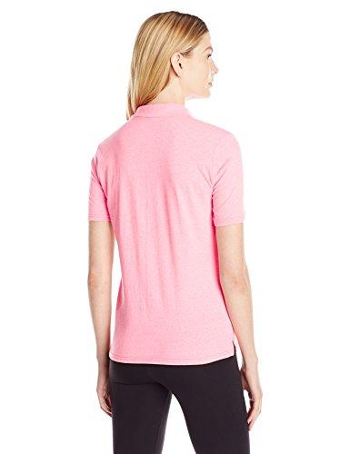 Hanes - T-shirt de sport - Manches Courtes - Femme - Neon Pink Heather