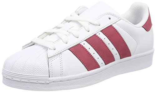 adidas Originals - Superstar, Baskets - Mixte Adulte - Blanc (Footwear White/Core Black/Footwear White 0) - 41 1/3 EU