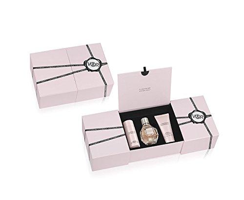 Set Viktor & Rolf Flowerbomb para mujer (perfume de 50 ml + crema corporal...