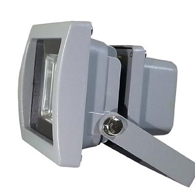 V-TAC LED Fluter Scheinwerfer Strahler 10W 10Watt IP65 Weiß 6000K Ersetzt 80W