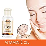Lucoss VITAMIN E OIL Hydratant Eclaircir Taches de rousseur Raffermir la peau Eclaircir les ridules Huile de soin du visage