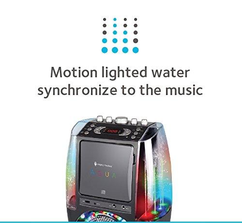 Singing Machine Sml605bk Agua Dancing Water Fountain