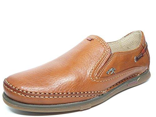 Zapato Hombre FLUCHOS Elasticos Laterales Piel Cuero