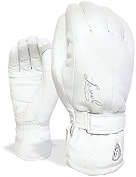 Level, Guanti Donna Classic, Bianco (09 White), misura 8