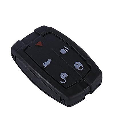 Qiilu-QL00294-5-Pulsanti-Remote-Entry-Smart-Uncut-Blank-Lama-Car-Key-Fob-Shell-Case