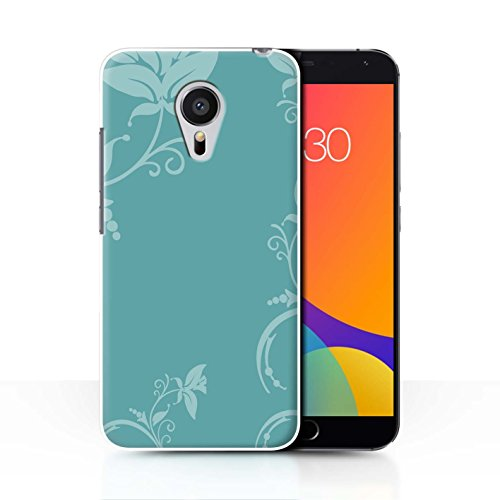 coque-de-stuff4-coque-pour-meizu-mx5-teal-floral-design-mode-hivernale-collection
