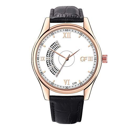 DAYLIN Relojes Más Vendidos Hombre en Amazon Reloj Pulsera de Cuero de Cuarzo Reloj de Marca Automatico...