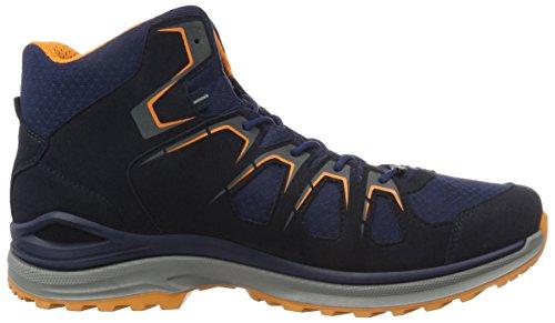 Lowa Innox Evo Gtx Qc, Chaussures de Randonnée Basses Homme Bleu (Navy/orange)