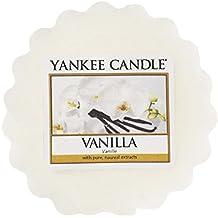 Yankee Candle Vanilla Tart da Fondere, Cera, Bianco, 5.8 x 5.7 x 1.7 cm