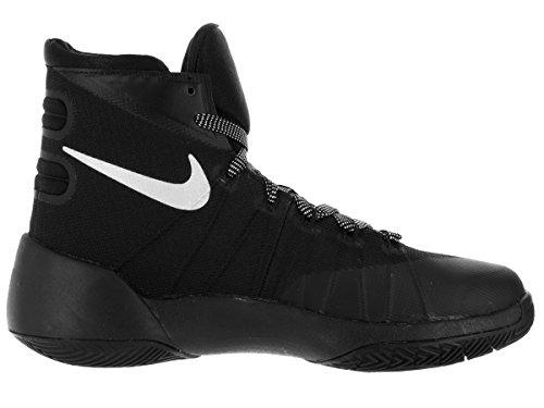 Jungen Nike Hyperdunk 2015 (gs) Basketball-Schuh Wolf grau / wei� / schwarz Grö�e 4 M Us Schwarz
