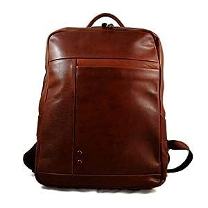Leder rucksack leder rucksack damen herren reisetasche kalbsleder rucksack vintage braun leder rucsack schulrucksack sporttasche