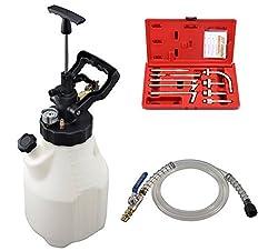 Druckluft Öl-Einfüllgerät 12L Öleinfüller Getriebe-Öl mit Adapter mit Handpumpe