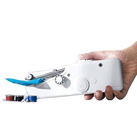 JuneJour Mini Compacte de Poche Machine à Coudre Portable Manuel