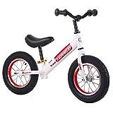 KY Vélo Enfants Vélo d'équilibre sans pédale pour Enfants 12 Pouces (Color :...