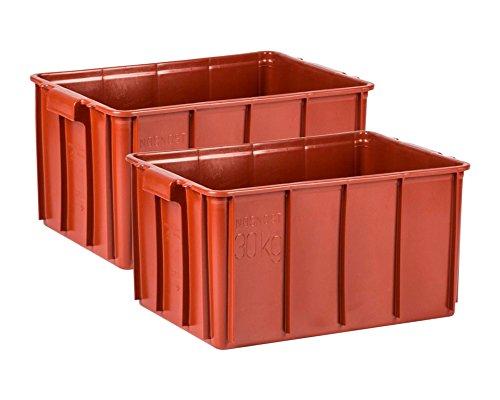 2PZ Transport contenitore di cuscinetti e materiale bhaelter 60x 40x 30cm Gast Lando