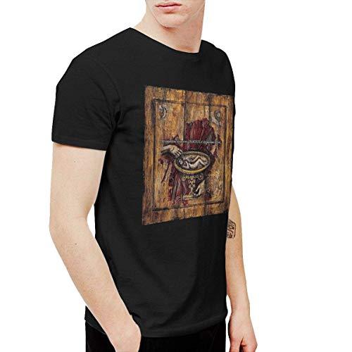 AlexisW The Smashing Pumpkins Machina Herren T-Shirts Schwarz 5XL