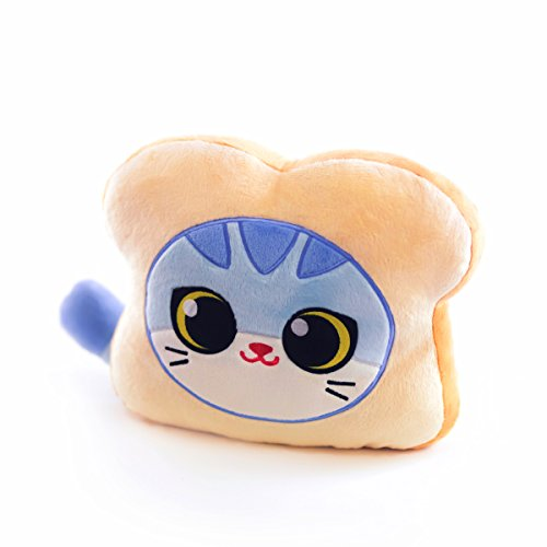 Toymio Gefüllte Plüsch Puppe, 27cm Plüsch Sitzende Katze/Weichem und Süße Plüsch Katze Form Kissen Kissenpolster Sofa Spielzeug Wohnkultur (Plüsch Katze Form Kissen)