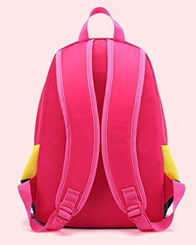 Keshi neuer Stil Schulrucksäcke/Rucksack Damen/Mädchen Vintage Schule Rucksäcke mit Moderner Streifen für Teens Jungen Studenten Himmelblau
