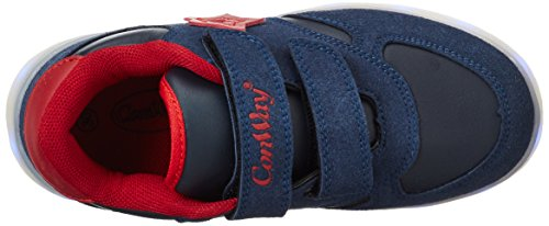 Conway 155823, Sneakers Basses Mixte Enfant Multicolore (Blau)