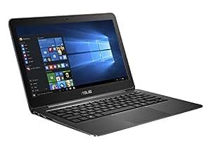 Asus Zenbook UX305LA-FC012T 33,8 cm (13,3 Zoll-FHD) Notebook (Intel Core i7 5500U, 8GB RAM, 256GB SSD, HD Graphic 5500, Win 10 Home) schwarz