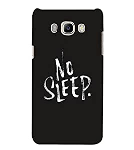 FUSON No Sleep 3D Hard Polycarbonate Designer Back Case Cover for Samsung Galaxy J7 (6) 2016 :: Samsung Galaxy J7 2016 Duos :: Samsung Galaxy J7 2016 J710F J710Fn J710M J710H