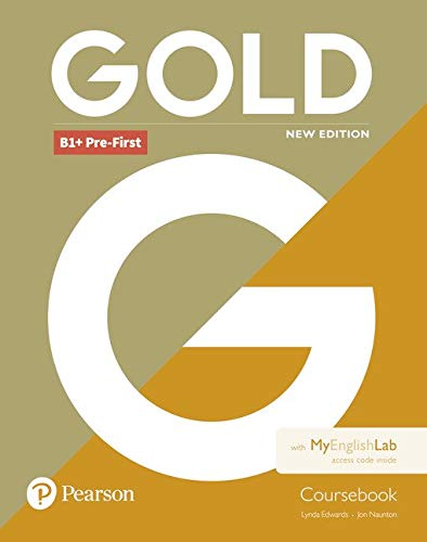 Gold B1+ Pre-First New Edition Coursebook and MyEnglishLab Pack