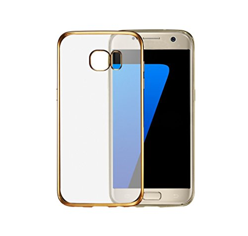 FABCARE Back Cover for Samsung Galaxy Star Pro (s7262) Back Cover Case - Gold Bordered  available at amazon for Rs.169