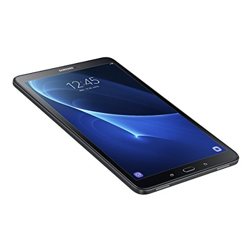 Samsung Galaxy Tab A   Tablet de 10.1 pulgadas FullHD (WiFi  Procesador Octa core Cortex A53  2 GB de RAM  16 GB de almacenamiento  Android 6.0 Marshmallow)  color negro