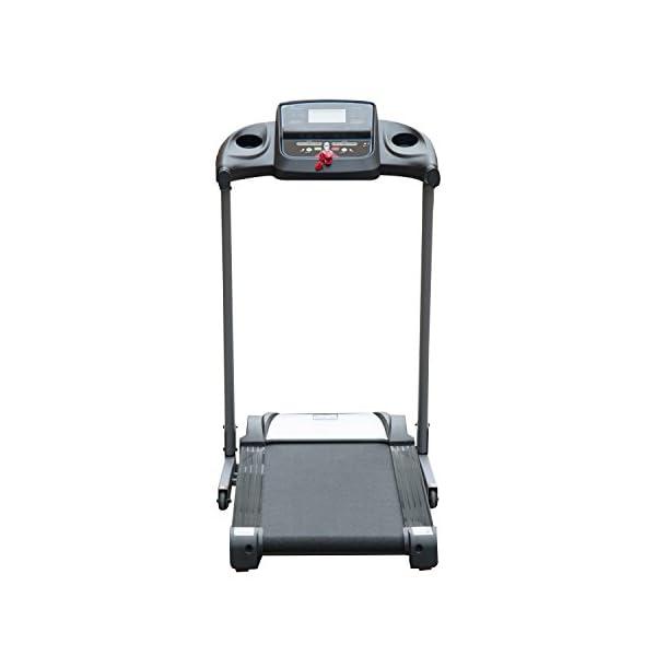 homcom Tapis Roulant Elettrico Professionale Pieghevole con Schermo LCD e MP3 1.75HP 5 spesavip
