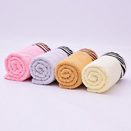 Nuova fibra di bambù bagno spessore set da regalo asciugamano ( Colore : Giallo ) Giallo