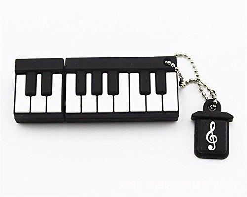 Monbedos Fashion Personality Mini disco de piano u de silicona (4 GB 8 GB 16 GB 32 GB 64 GB) 64 GB