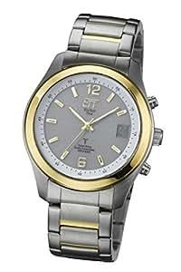 Eco Tech Time egs-11137–51M Herren Armbanduhr, Armband in Edelstahl