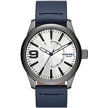 Diesel Reloj Analógico para Hombre de Cuarzo con Correa en Cuero DZ1859 de0a7f651334