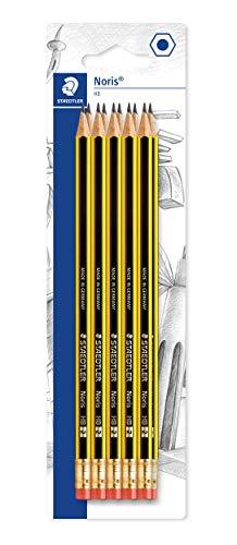 Staedtler noris 122 - matita hb con gomma, confezione da 10