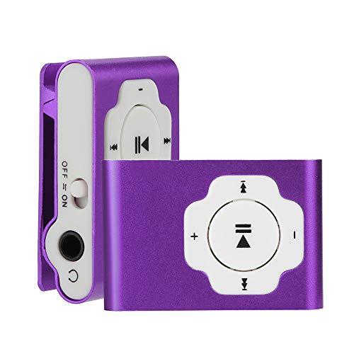 TianranRT Mini Tragbar USB MP3 Player Unterstützung Micro SD TF Karte 32GB Sport Musik (Sport Player Kostüme)
