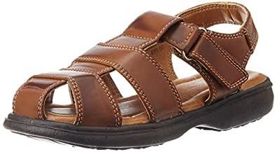 Bubblegummers Boy's Urbe Gold Sandals and Floaters - 11 Kids UK/India (29 EU) (3613145)