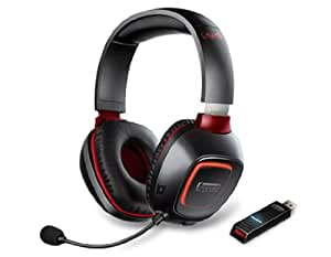 Creative Sound Blaster Tactic3D Wrath Wireless Gaming Headset (mit THX, kabellos) schwarz