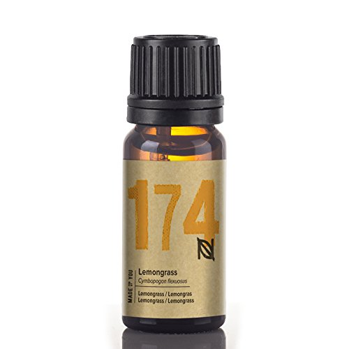 Naissance Lemongras Flexuosus (Nr. 174) 10ml 100% naturreines ätherisches Lemongrasöl - Zitrone Zahnpasta