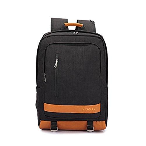 Yisibo Crossover sottile protettiva Zaino in nylon zaino per laptop leggero business zaino scuola borsa da viaggio borsa sport 16 Inch Laptop Macbook computer Zaini