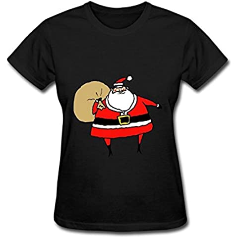 HF-welling Women's Santa Short Sleeve T-Shirt