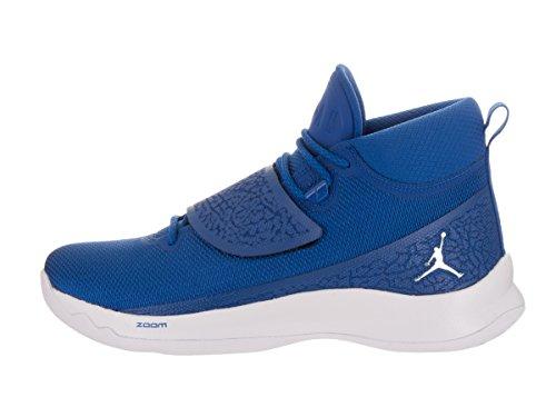 Nike Jordan Super.Fly 5 PO Basketballschuhe Sportschuhe Schuhe für Herren Team Royal/White/Metallic Silver